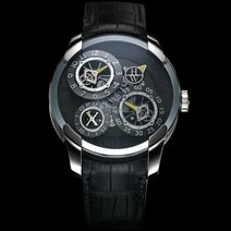 2010  Opus X, Harry Winston en collaboration avec l'horloger-ingénieur Jean-François Mojon