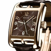 Hermès: The Cape Cod Grand Hours Limited edition in gold/2009