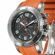 Hermès: Clipper 44-millimetre mechanical chronograph/2010