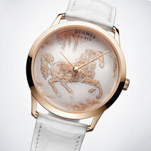 Hermès: Slim d'Hermès Cheval Ikat