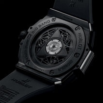 Hublot: Big Bang Unico Sang Bleu II All Black