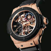 Hublot: Gold King Power Tourbillon GMT /2010