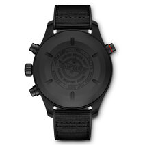IWC: Pilot's Watch Double Chronograph TOP GUN Ceratanium