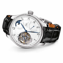 IWC : Portugieser Tourbillon Force Constante Edition « 150 Years »