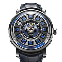 Escale Spin Time Tourbillon Central Bleue square