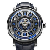 Escale Spin Time Tourbillon Central Bleue