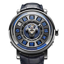 Escale Spin Time Tourbillon Central Blue