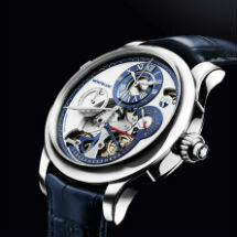 Montblanc Collection Villeret 1858 - Régulateur Nautique Wristwatch Chronograph