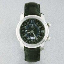 Montre-bracelet Capeland à double fuseau horaire et réveil