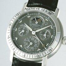 Montre-bracelet Jules Audemars à lever et coucher du soleil, équation du temps et quantième perpétuel