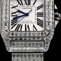 Cartier: Bracelet-montre Santos 100