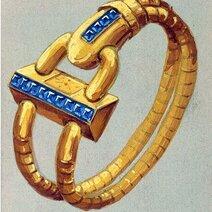 Design cadenas sapphires, circa 1935