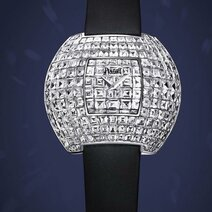 Piaget: Disco ball, diamants-baguette sertis invisible/2006