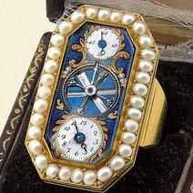 Ring-watch with balance/circa 1880 © Antiquorum
