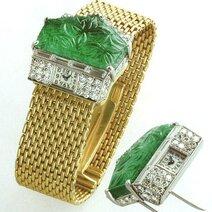 Transformation bracelet watch