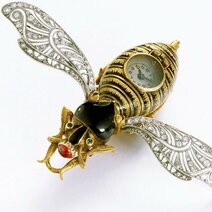 Montres de fantaisie en forme d'insectes