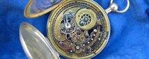 スケルトンのクォーターリピーター、螺旋状ニエロ仕上げのゴング、1820年頃