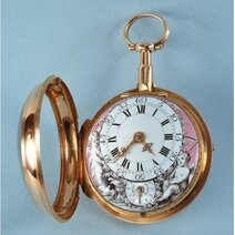 Automatic pocket-watch attributed to Abraham-Louis Perrelet (1729-1826) Le Locle end 18th century