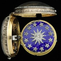 Rotating stars watch, signed Pierre Morant, Paris, late 18th century
