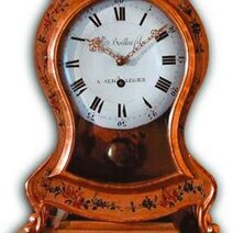 Clock designed by Vénuste Boillat and son from Saignelégier 18th century