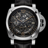 L'Astronomo — Luminor 1950 Tourbillon Moon Phases Equation of Time GMT — 50 mm