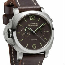 Luminor 1950 Chrono Monopulsante Left-handed 8 Days Titanio - 44 mm