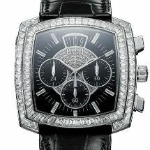 Cushion-shaped Limelight watch