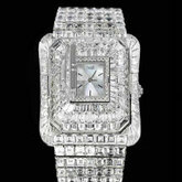 Limelight Piece Exceptionnelle Piaget Emperador - 2 montres secret en or blanc 18 carats