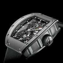 RM 022 Tourbillon « Aérodyne » Deuxième fuseau horaire