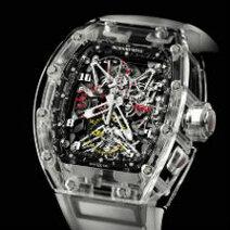 Richard Mille: Tourbillon Chronograph Rm 056 Felipe Massa Saphir/2012