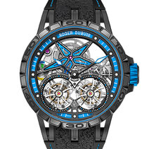 Excalibur Spider Pirelli Double Tourbillon Volant square