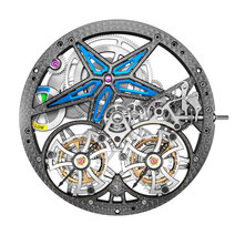 Excalibur Spider Pirelli Double Tourbillon Volant
