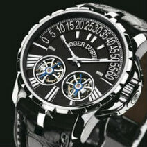 Roger Dubuis: Excalibur RD01 : double tourbillon with differential/2005