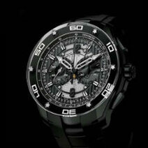 Roger Dubuis: Pulsion Chronographe en titane noir/2012