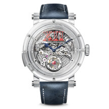 Crazy Sapphire Minute Repeater Flying Tourbillon