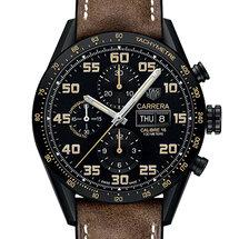 Carrera Calibre 16 Day-Date Chronograph Black Titanium