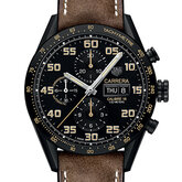 Carrera Calibre 16 Day-Date Chronograph Black Titanium