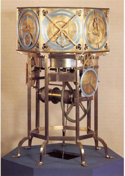Reconstruction moderne de l'Astrarium de Dondi