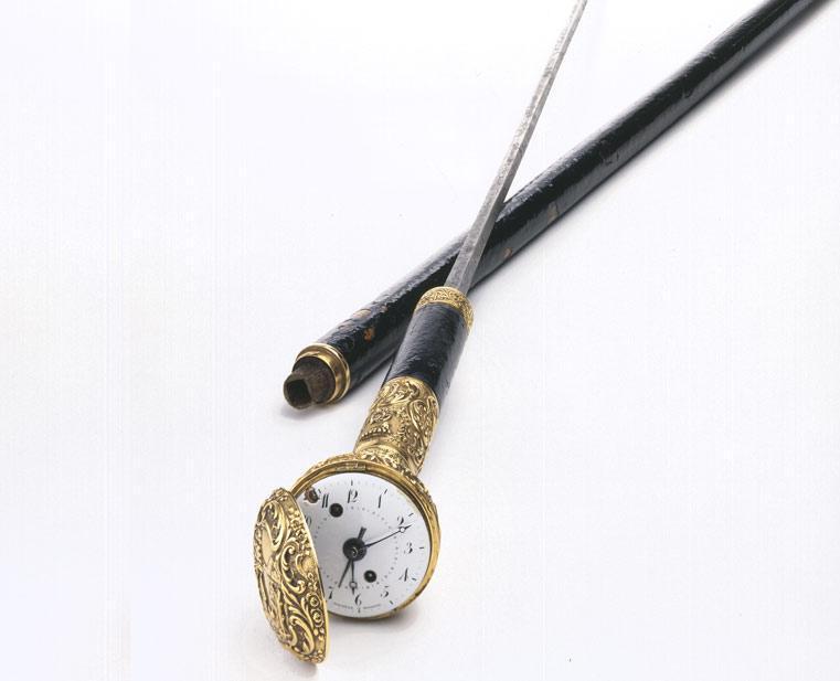 Sword cane signed duchêne, 1518