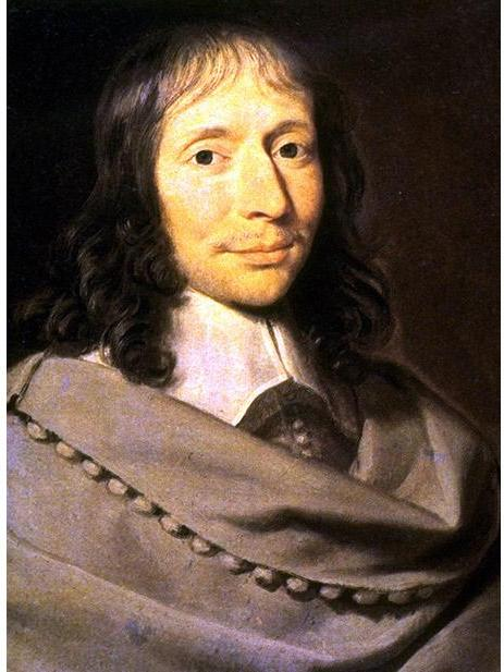 The philosopher and mathematician Blaise Pascal
