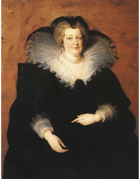 Marie de Médicis par Rubens
