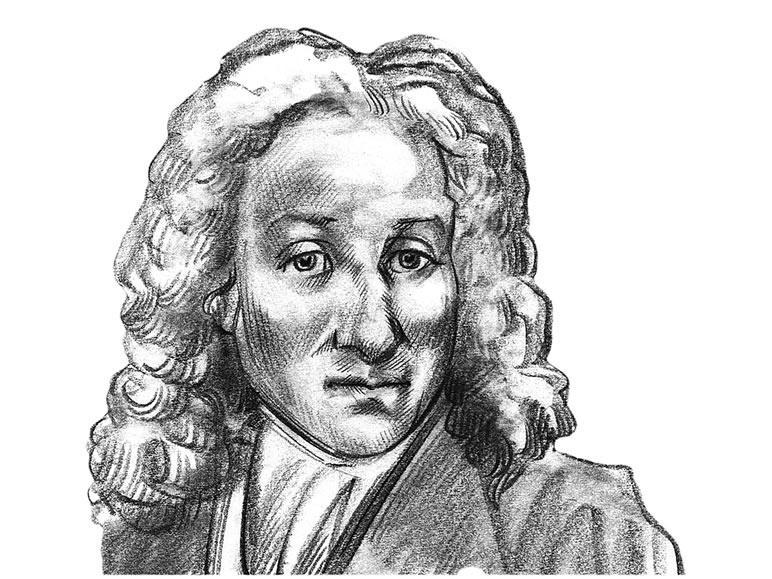 Nicolas Fatio de Duillier's portrait
