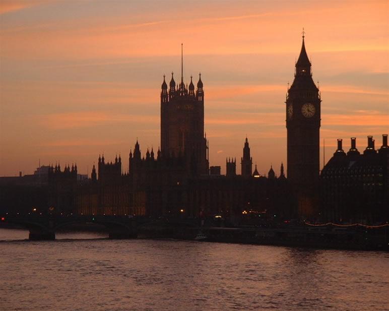 Le Parlement britannique, 1714