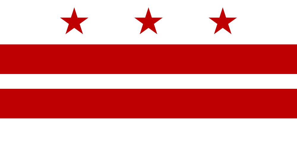 Drapeau de Washington, D.C.