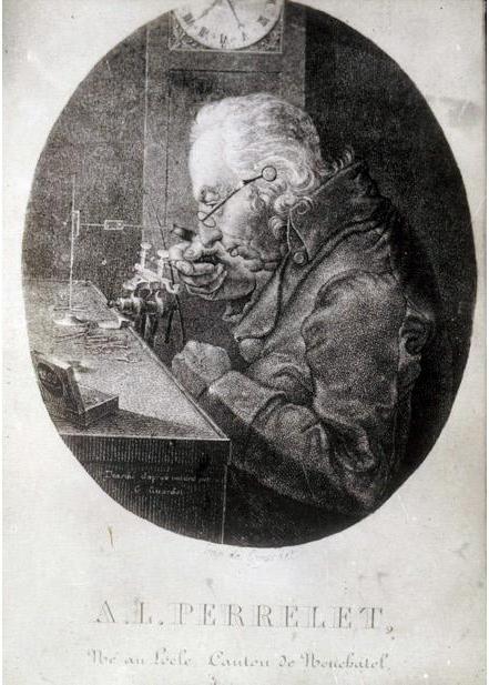 Louis-Frédéric Perrelet © MHE