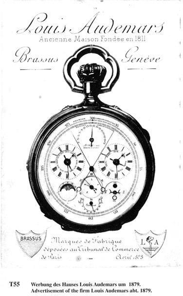Keyless winding system by Louis Audemars/1838