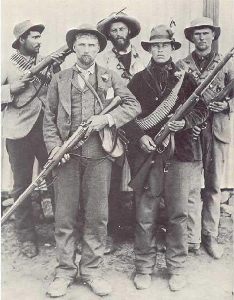 Guerillas during the Boear War