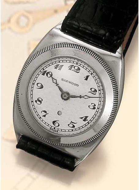 Harwood: fine, self-winding wristwatch