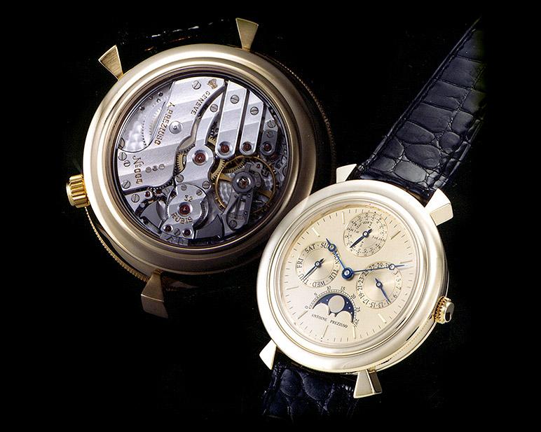 Antoine Preziuso: Perpetual calendar minute repeater