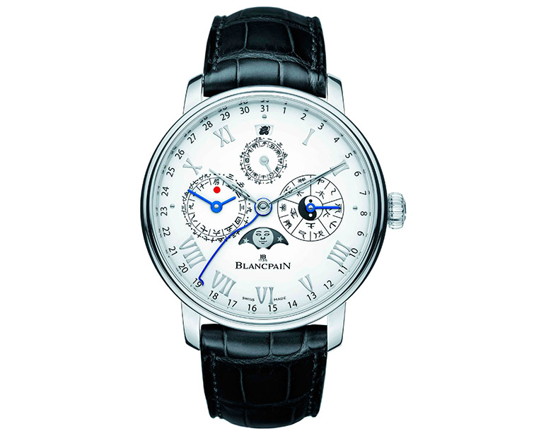 Blancpain: Villeret Calendrier Chinois Traditionnel